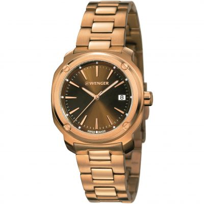 Ladies Wenger Edge Index Watch 011121105