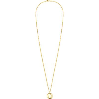 Ladies Calvin Klein PVD Gold plated Show Necklace KJ4XJN100200