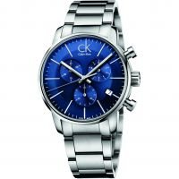 Mens Calvin Klein CITY Chronograph Watch K2G2714N