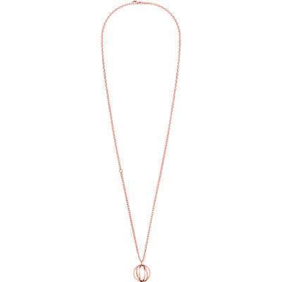 Ladies Calvin Klein PVD rose plating Show Necklace KJ4XPN100200