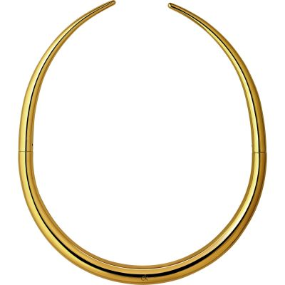 Ladies Calvin Klein Gold Plated Born Choker Necklace KJ94JJ100100