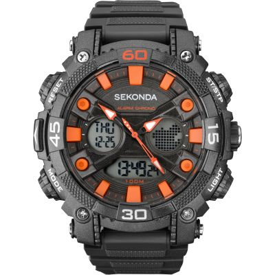 Mens Sekonda Alarm Chronograph Watch 1037