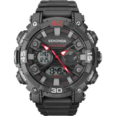 Mens Sekonda Alarm Chronograph Watch 1036