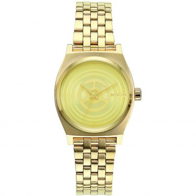 Nixon C-3PO Gold The Small Time Teller Star Wars Special Edition Damenuhr in Gold A399SW-2378