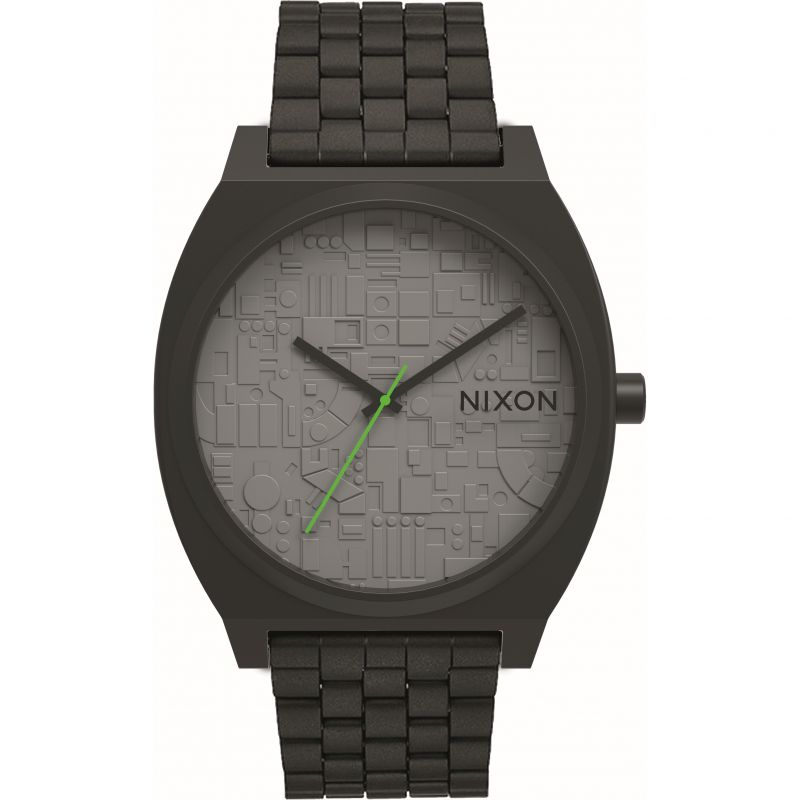 Mens Nixon The Time Teller Star Wars Special Edition Death Star Watch
