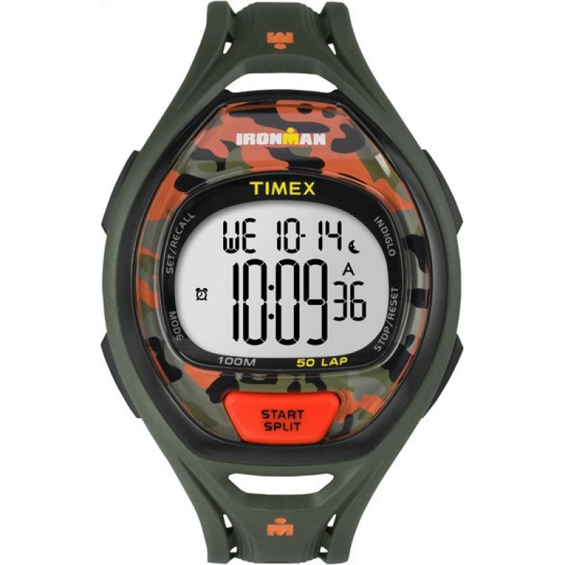 Mens Timex Indiglo Ironman Alarm Chronograph Watch TW5M01200