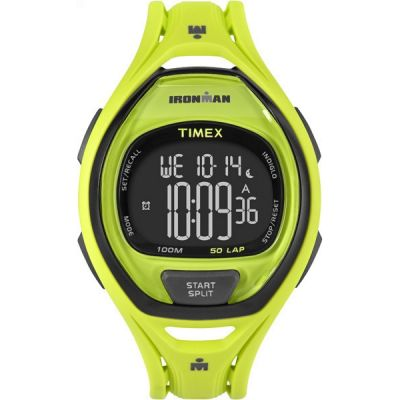 Mens Timex Indiglo Ironman Alarm Chronograph Watch TW5M01700