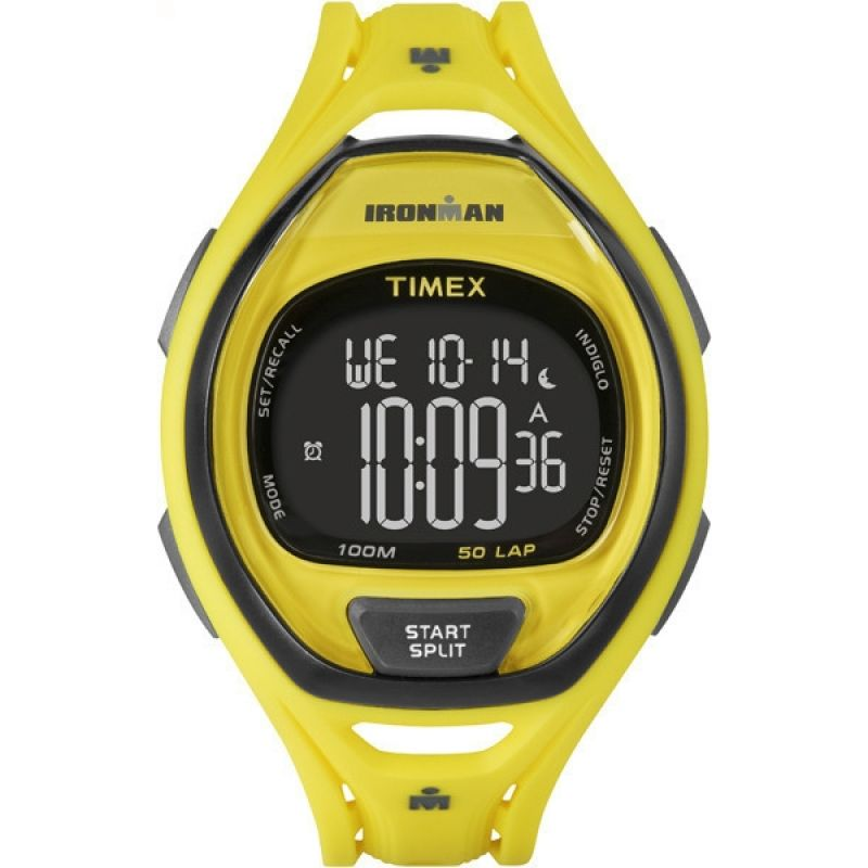 Mens Timex Indiglo Ironman Alarm Chronograph Watch TW5M01800