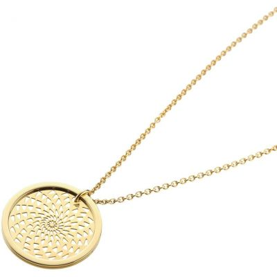 Ladies STORM PVD Gold plated Denzi Necklace 9980743/GD