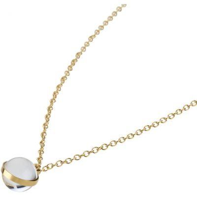 Ladies STORM PVD Gold plated Isla Necklace ISLA-NECKLACE-GOLD