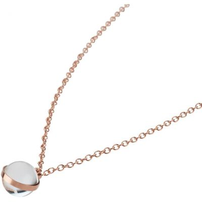 Ladies STORM PVD rose plating Isla Necklace 9980746/RG