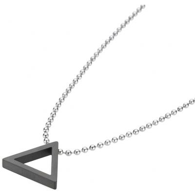 Mens STORM Stainless Steel Taylor Necklace 9980741/BK