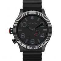 Mens Nixon The 51-30 Leather Star Wars Special Edition Kylo Ren Watch A1063SW-2444