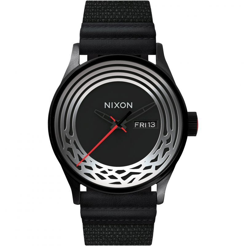 Mens Nixon The Sentry Woven Star Wars Special Edition Kylo Ren Watch