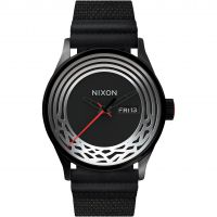 Mens Nixon The Sentry Woven Star Wars Special Edition Kylo Ren Watch A1067SW-2444