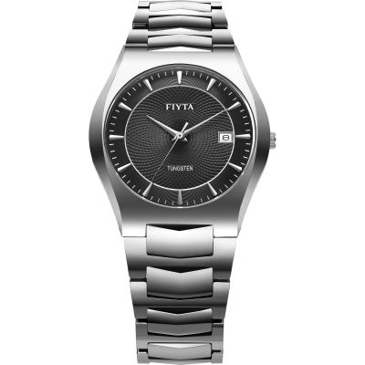 Mens FIYTA Tungsten Watch WG806001.WBW