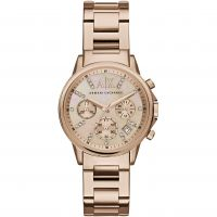 Ladies Armani Exchange Chronograph Watch AX4326