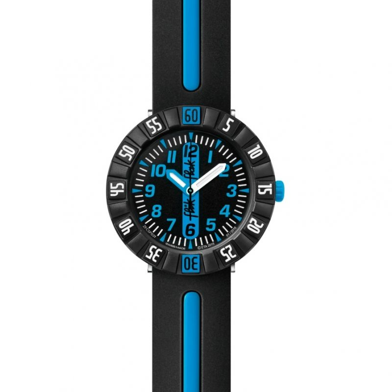 Childrens Flik Flak Blue Ahead Watch FCSP031