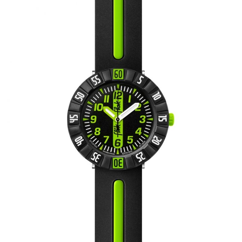 Childrens Flik Flak Green Ahead Watch FCSP032