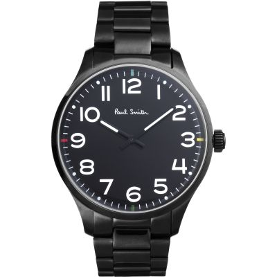 Paul Smith Tempo Herrenuhr in Schwarz P10066