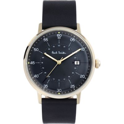 Paul Smith Gauge Herrenuhr in Schwarz P10076
