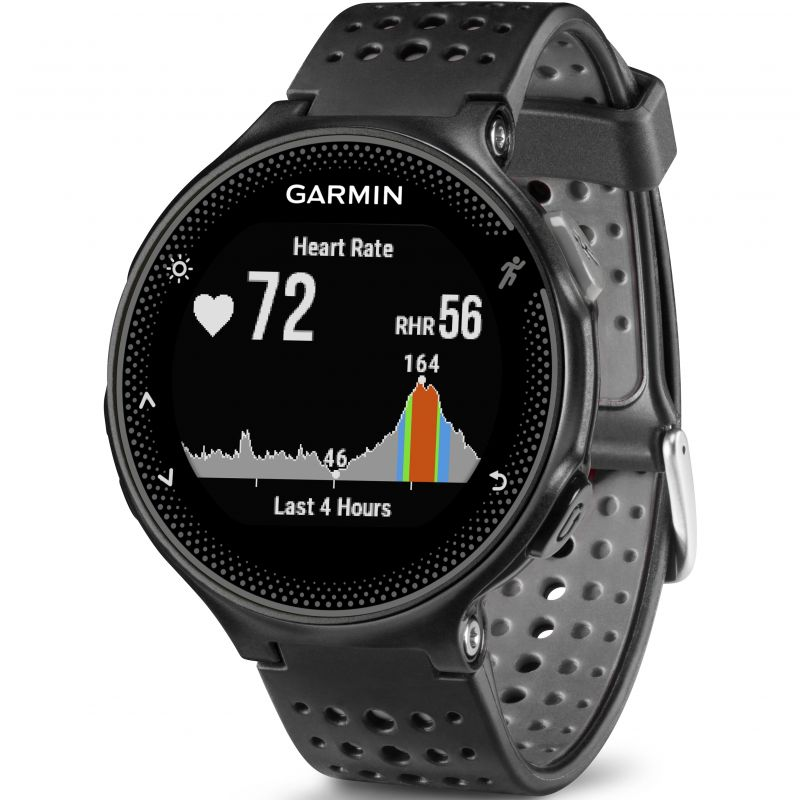 Unisex Garmin Forerunner 235 HR GPS Bluetooth Alarm Chronograph Watch
