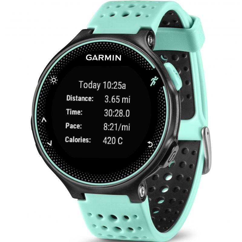 Unisex Garmin Forerunner 235 HR GPS Bluetooth Alarm Chronograph Watch  010-03717-49