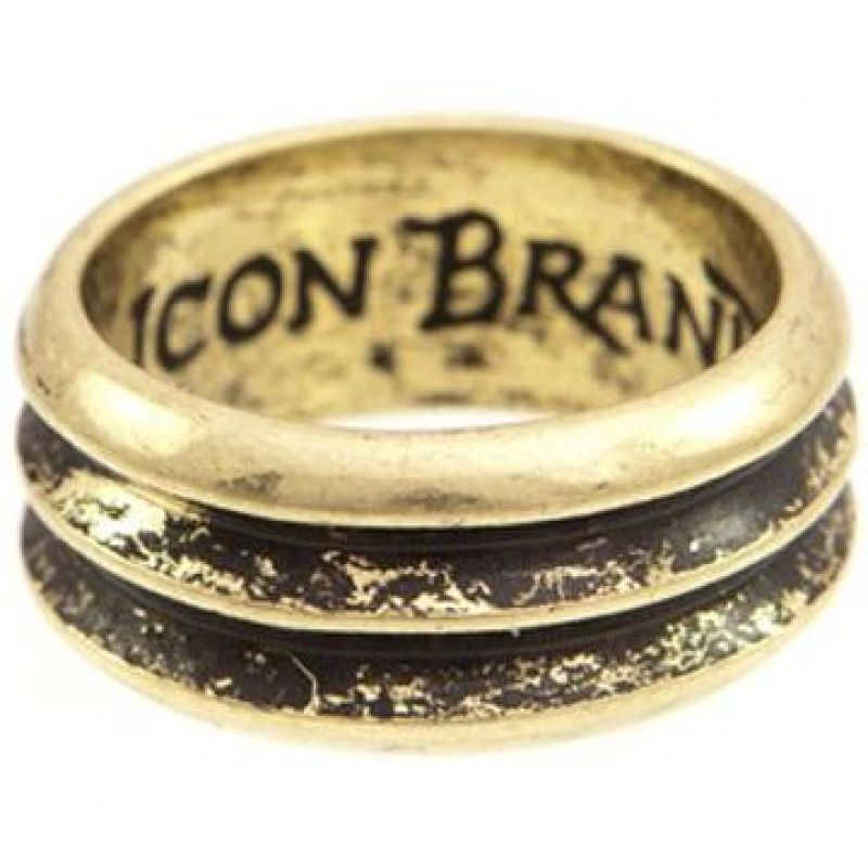 Icon Brand Base metal Firing Pin Ring Size Medium P1095-R-GLD-MED