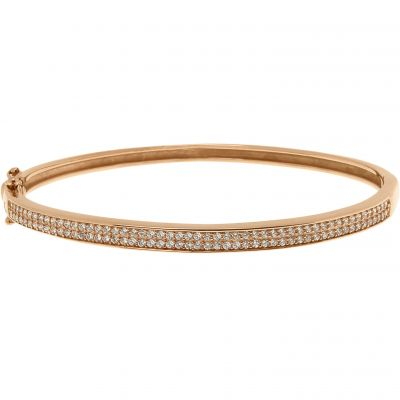 Ladies Bronzallure 18ct Gold Plated Bronze Bracelet WSBZ00208.B
