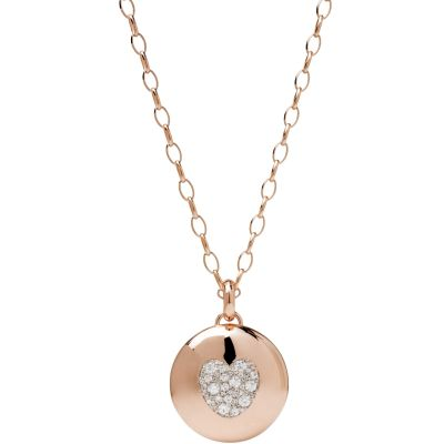 Ladies Bronzallure 18ct Gold Plated Bronze Necklace WSBZ00594.WR