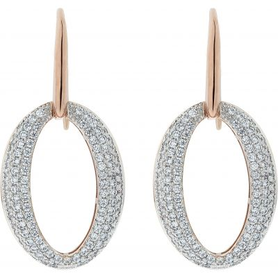 Ladies Bronzallure 18ct Gold Plated Bronze Earrings WSBZ00605.WR