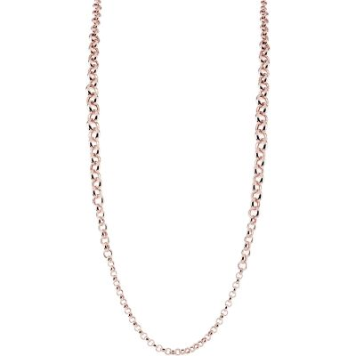 Ladies Bronzallure 18ct Gold Plated Bronze Necklace WSBZ00663.R