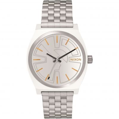 Nixon The Time Teller SW BB-8 Silver / Orange Unisexklocka Silver A045SW-2604
