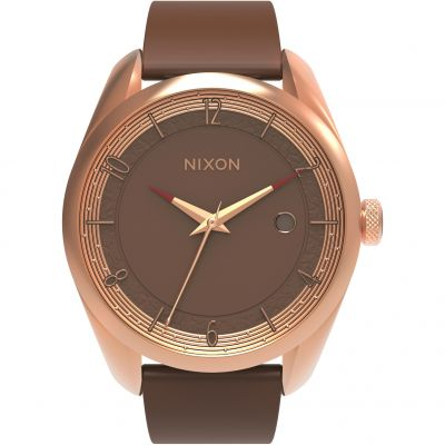 Nixon The Bullet SW Leia Rose Gold Dameshorloge Bruin A418SW-2610