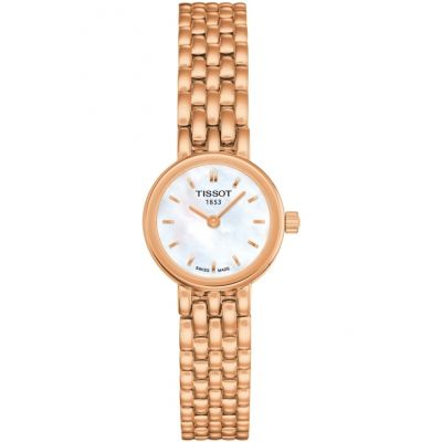Tissot T-Lady Lovely Damenuhr in Rosa T0580093311100