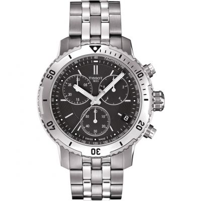 Tissot T-Sport PRS200 Herrenchronograph in Silber T0674171105101