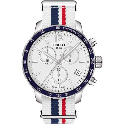 Tissot Quickster Herenchronograaf Wit T0954171703709