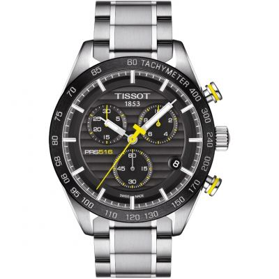 Tissot T-Sport PRS516 Herrenchronograph in Silber T1004171105100