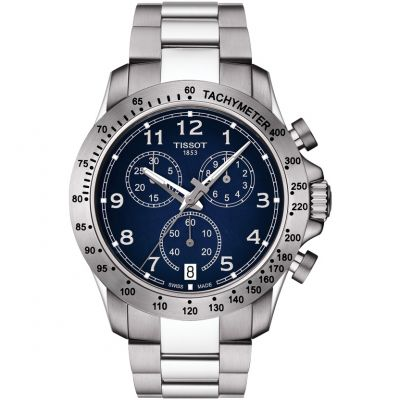 Mens Tissot V8 Chronograph Watch T1064171104200