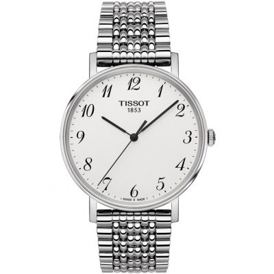 Tissot T-Classic Everytime Herrenuhr in Silber T1094101103200