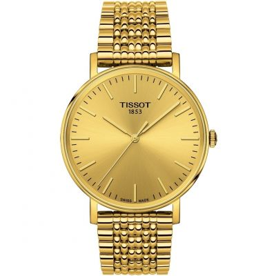 Tissot T-Classic Everytime Herrenuhr in Gold T1094103302100