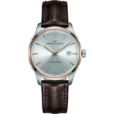 Hamilton Jazzmaster Gents 40mm Herrenuhr in Braun H32441551
