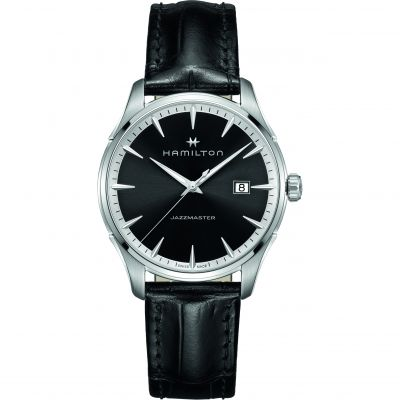 Hamilton Jazzmaster Gents 40mm Herrenuhr in Schwarz H32451731