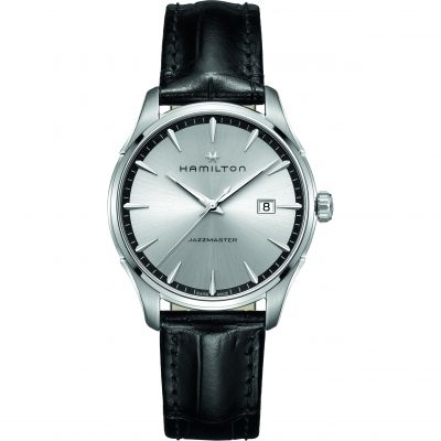 Hamilton Jazzmaster Gents 40mm Herrenuhr in Schwarz H32451751