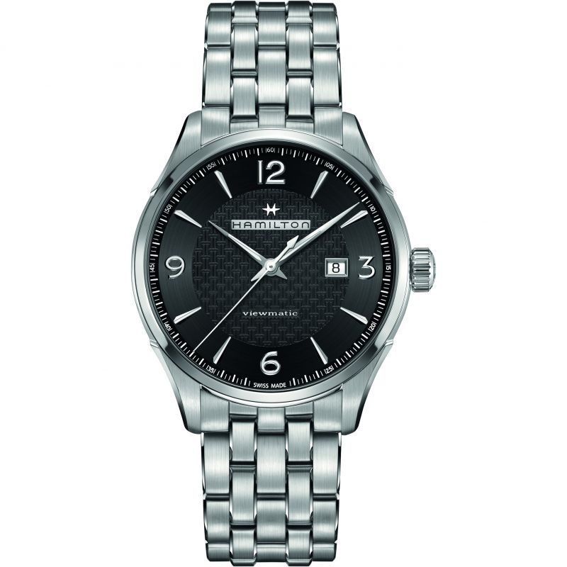 Mens Hamilton Jazzmaster Viewmatic 44mm Automatic Watch H32755131