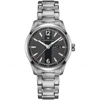 Hamilton Broadway Day-Date 40mm Herrenuhr in Silber H43311135