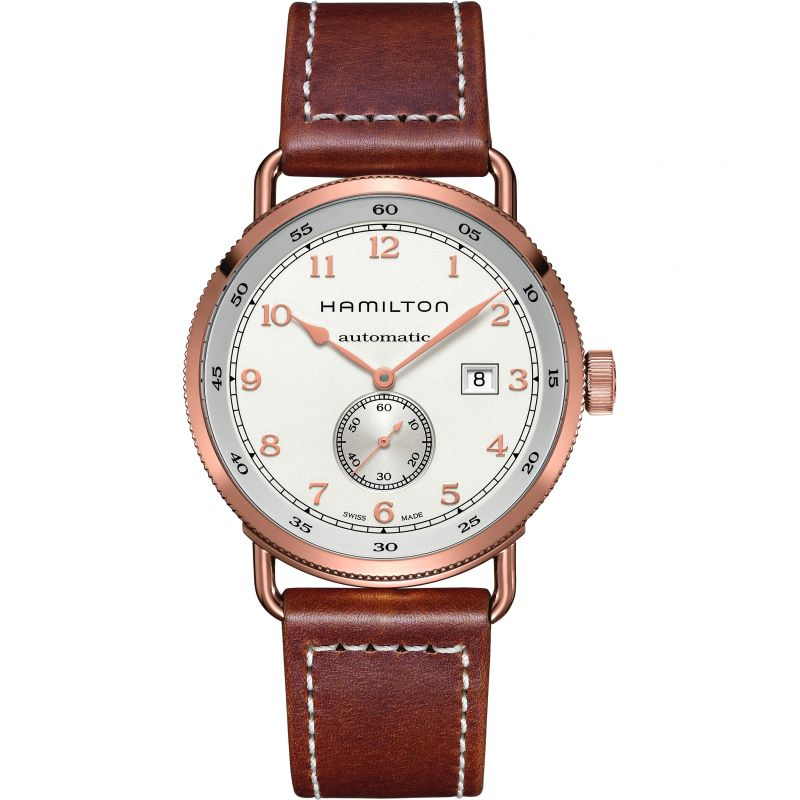 Mens Hamilton Khaky Navy Pioneer 43mm Automatic Watch