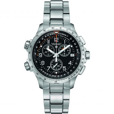Mens Hamilton X-Wind Chronograph Watch H77912135