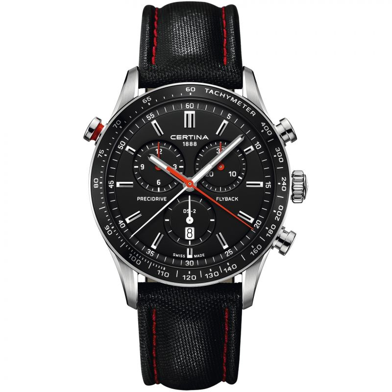 Mens Certina DS-2 Flyback Chronograph Watch