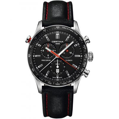 Montre Chronographe Homme Certina DS-2 Flyback C0246181605100